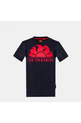 SUNDEK NEW SIMEON LOGO -T-SHIRT S/S