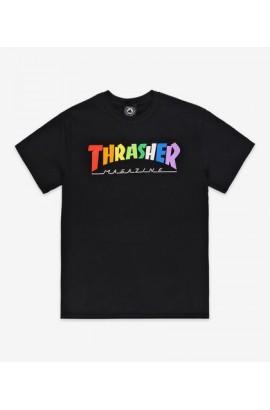 TRASHER RAINBOW TEE