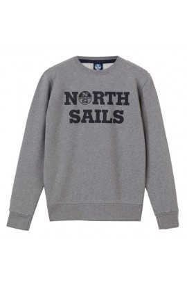 NORTH SAILS ROUNDED NECK W/GRAPHIC