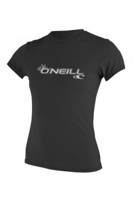 ONEILL WMS BASIC SKINS S/S SUN SHIRT