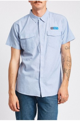 BRIXTON OFFICER S/S WOVEN