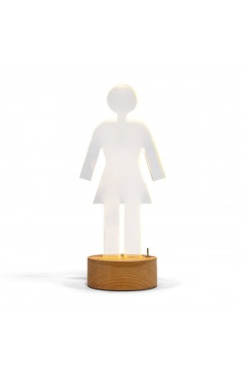 GIRL PG ACRYLIC LAMP